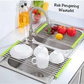 Rak pengering wastafel portable
