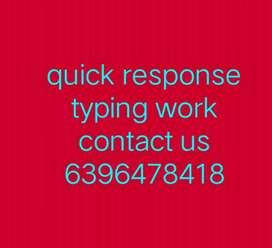 For job ,typing job , home job ( call us right now )