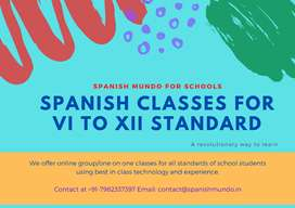 Spanish Classes/Tuition for School Students