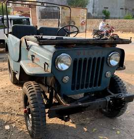 1953 Model Vintage Willys CJ-3B With Orignal F4-134 Petrol Engine