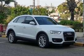 Audi Q3 TFSI Quatro 2.0 AT 2012 Km 42rb Siap Pakai Register 2013