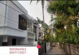 Full Furnished and Interior works 5Cent Plot 2000sqft  house Kottiyam