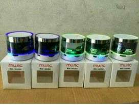 Speaker bluetooth led nyala
