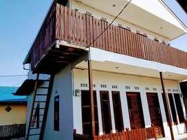 rumah kontrakan 4 pintu