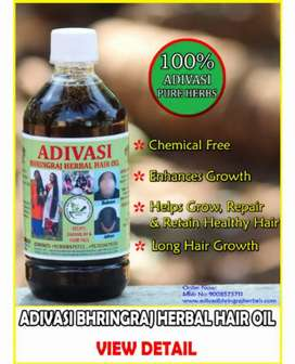 ADIVASI BHRINGRAJ HERBAL HAIR OIL
