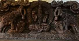 Antique wood craft
