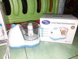 Smart baby food processor