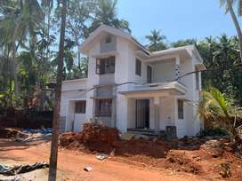 Cheruvatta - Poloor 4 Cent 3 Bed New House 55 Lakh
