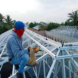 Bajaringan (SNI) | Plafon gysume/PVC | Renovasi bangunan rumah dll