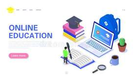 ONLINE CLASS AVAILABLE FOR STUDENT FROM CLASS 1 to 8th .
