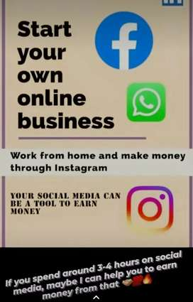 Work from home digital  project