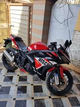 200cc chinese ninja bike only 516km used