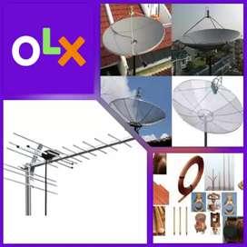 Antena Murah/ Pasang Antena Tv & Pasang Parabola Decoder