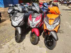 Special offer lowest down payment Honda Dio STD