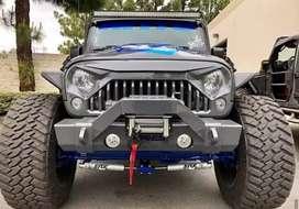 Modified angry stylish jeep