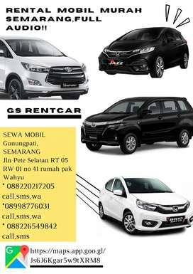 Rental Mobil Murah Gunungpati Semarang Full Audio harga mulai 200-350k