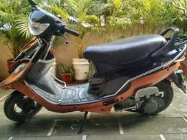 Tvs scooty pept. Best vehicle. Single handed used. New tyres.