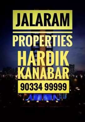 3 Bhk Semi furnished flat on rent jalaram 2