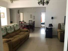 3 Bedroom Semi Furnished Flat at Vellayambalam For Rent