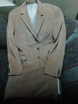 Imported 2 piece suit cartroy fabric