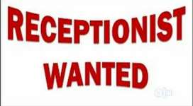 Wanted receptionist/front office executive