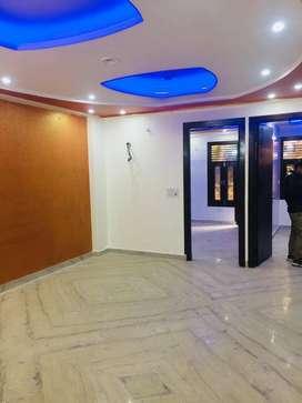 3 bhk floor with lift with car parking uttam nagar west