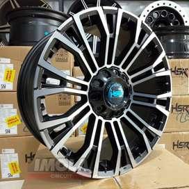 Pelg mobil racing murah import HSR wheel MYTH02 R20 baut 6x139,7