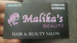 Malika's beauty parlour