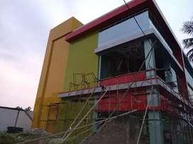 Gedung yang berlapis ACP