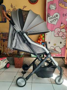 Hybrid Cabi Stroller - Dim grey