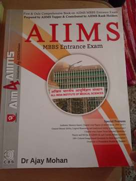 """Brand new book """" AIM 4 AIIMS"""" by Dr Ajay Mohan"""