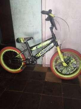 Sepeda anak morison ukuran 18