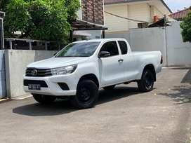 DP 90jt. Toyota Hilux 2.4 E ExtraCabin 4x4 2018 tt Double cabin navara