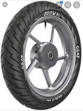 Gixxer sf rear tyre ceat used 300 km