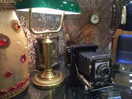 Old speed graphic camera