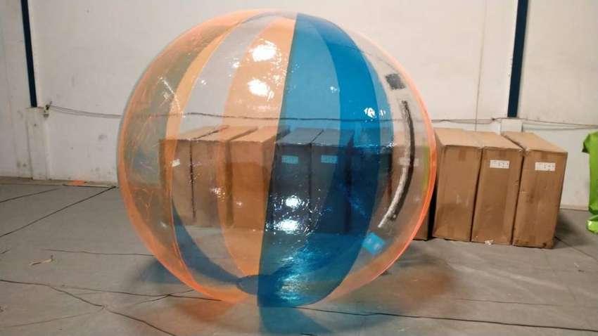 waterball bahan karet import untuk wisata air 0