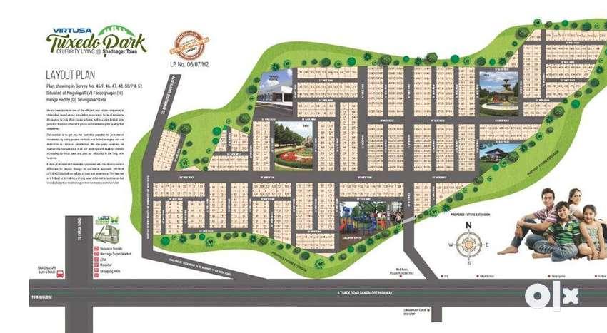 Virtusa Tuxedo Park balanagar near shadnagar price is Rs.10999per sqyd 0