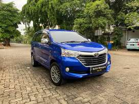 "(Cash) ""Km22rb"" Toyota Grand Avanza 1.3 G ""E Up G"" 2018 (Biru Metalik)"