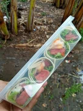 Kebab mini daging isi 4/box