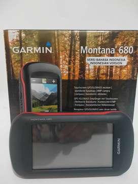 Gps Garmin Montana 680 Second Komplit bergaransi