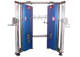 Gym full commercial setup (manufacturer)