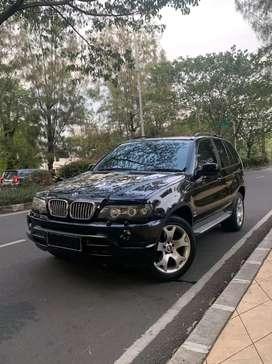Dijual BMW X5 E53 3.0 2002 Warna Hitam Terawat & Warna Interior Beige