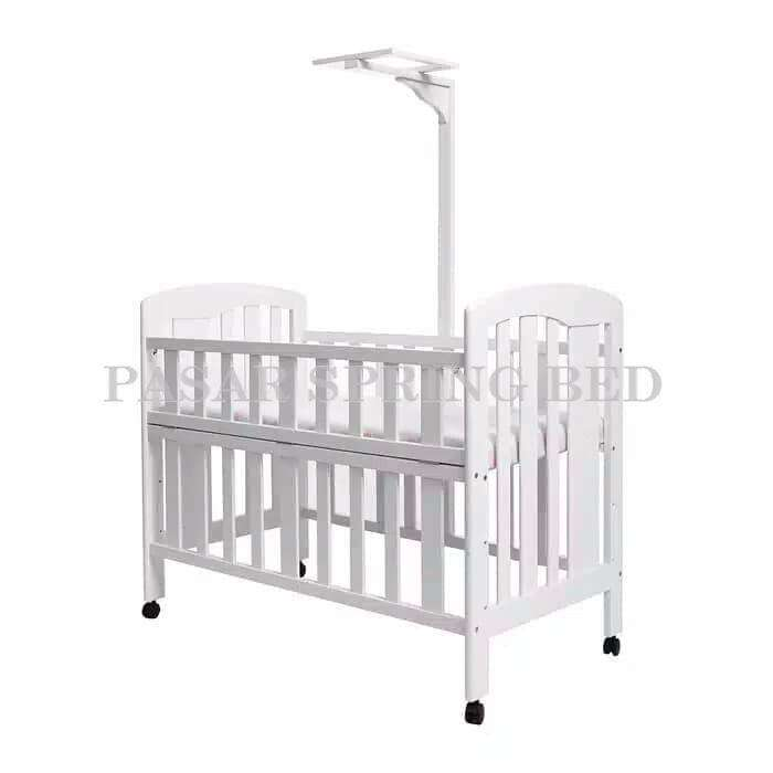 FreOngkir Ranjang Bayi Tempat Tidur Baby Box Baby Crib HakariHK1008Wht 0