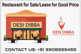 Restaurant for Sale/Lease in Madhapur, Hitech City - Desi Dibba