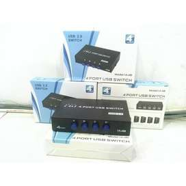 Usb Switch 4 Port / Manual Switch Printer 4 Port / Data Switch