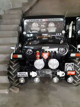 Mahindera modified jeep willys