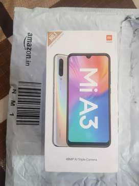 Sale Mi A3 brand New pic without seal open full 1yr warranty