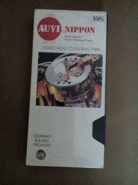 (AUVI) NIPPON VIDEO HEAD CLEANING TAPE (VHS)