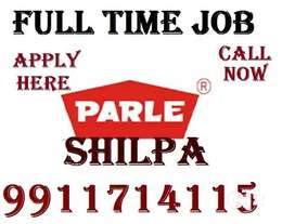 Parle Company Full time job apply in helper,store keeper,supervisor