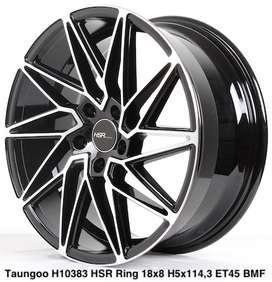 Velg racing Honda BRV TAUNGOO 10383 HSR R18X8 H5X114,3 ET45 BMF